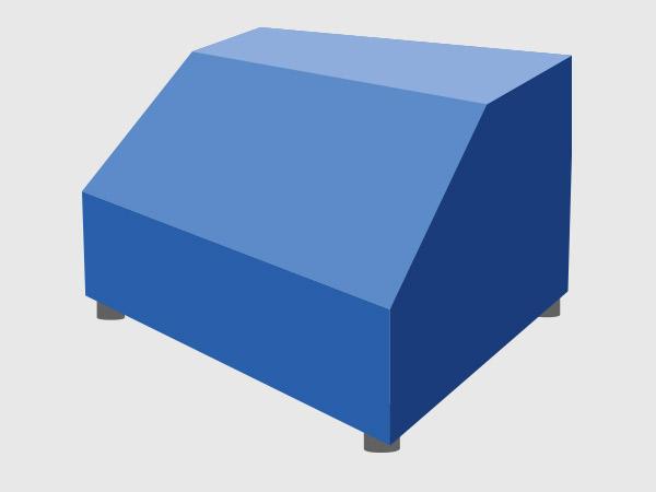 Abdeckhauben-PVC-Sonderform