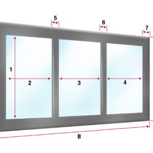 Carport Oder Terrassenplane Mit 3x Fenster Ohne Tur