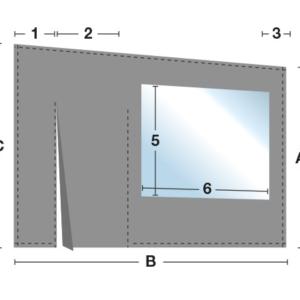 carport oder terrassenplane komplett transparent. Black Bedroom Furniture Sets. Home Design Ideas