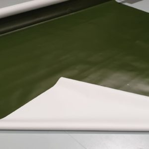 Weiß  RAL9010 B-Ware Abdeckplane 4,-€ // m² LKW Plane PVC 940 gr//m² 3,2m
