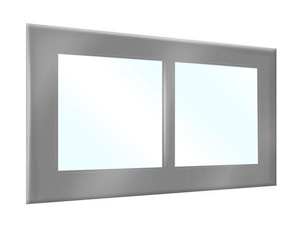 PVC Plane Terrasse oder Carport mit Fenstern
