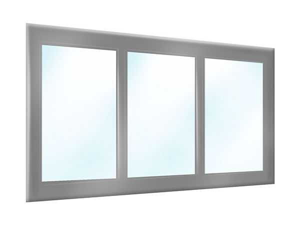 PVC Plane Terrasse oder Carport mit Sichtfenstern