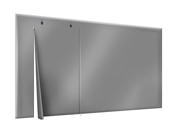 PVC Plane Terrasse oder Carport mit Tür