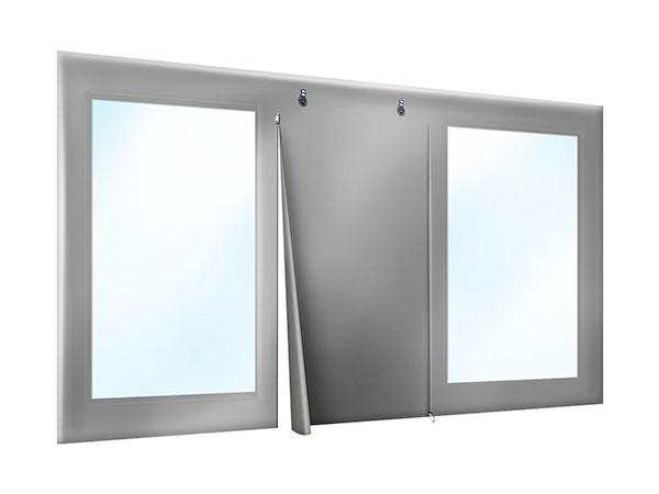 PVC Plane Terrasse oder Carport mit Tür und Fenstern